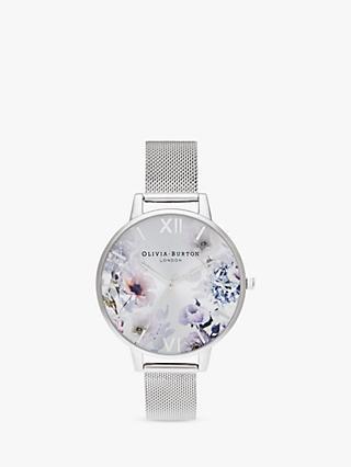 f9bc43ac4d65 Olivia Burton OB16EG117 Women s Sunlight Florals Mesh Bracelet Strap Watch