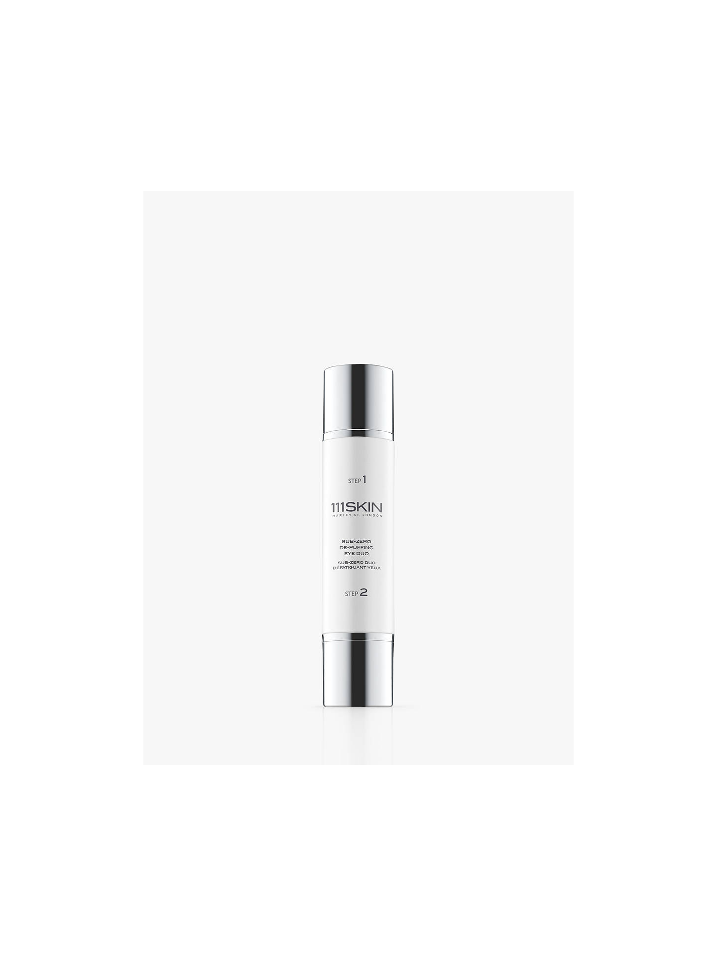 Buy 111SKIN Sub-Zero De-Puffing Eye Duo, 20ml Online at johnlewis.com