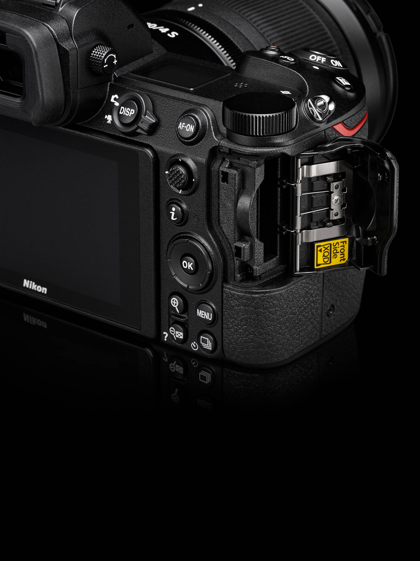 Nikon Z6 Compact System Camera with 24-70mm Lens, 4K UHD, 24 5MP, Wi-Fi,  Bluetooth, OLED EVF, 3 2