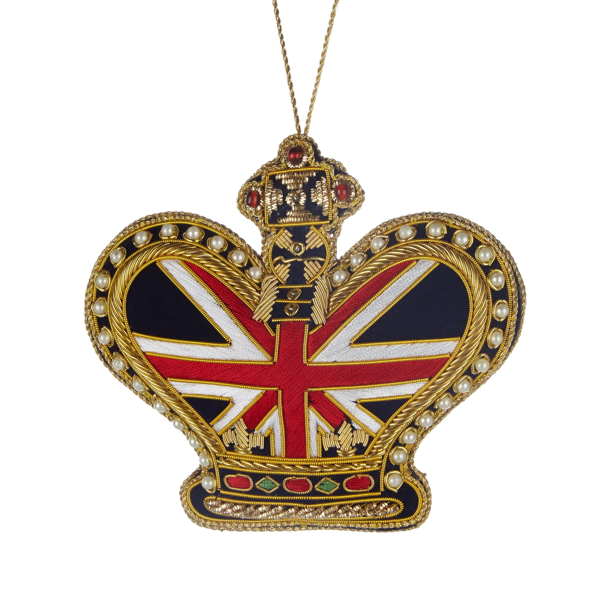 Tinker Tailor Tinker Tailor Union Jack Crown Tree Decoration
