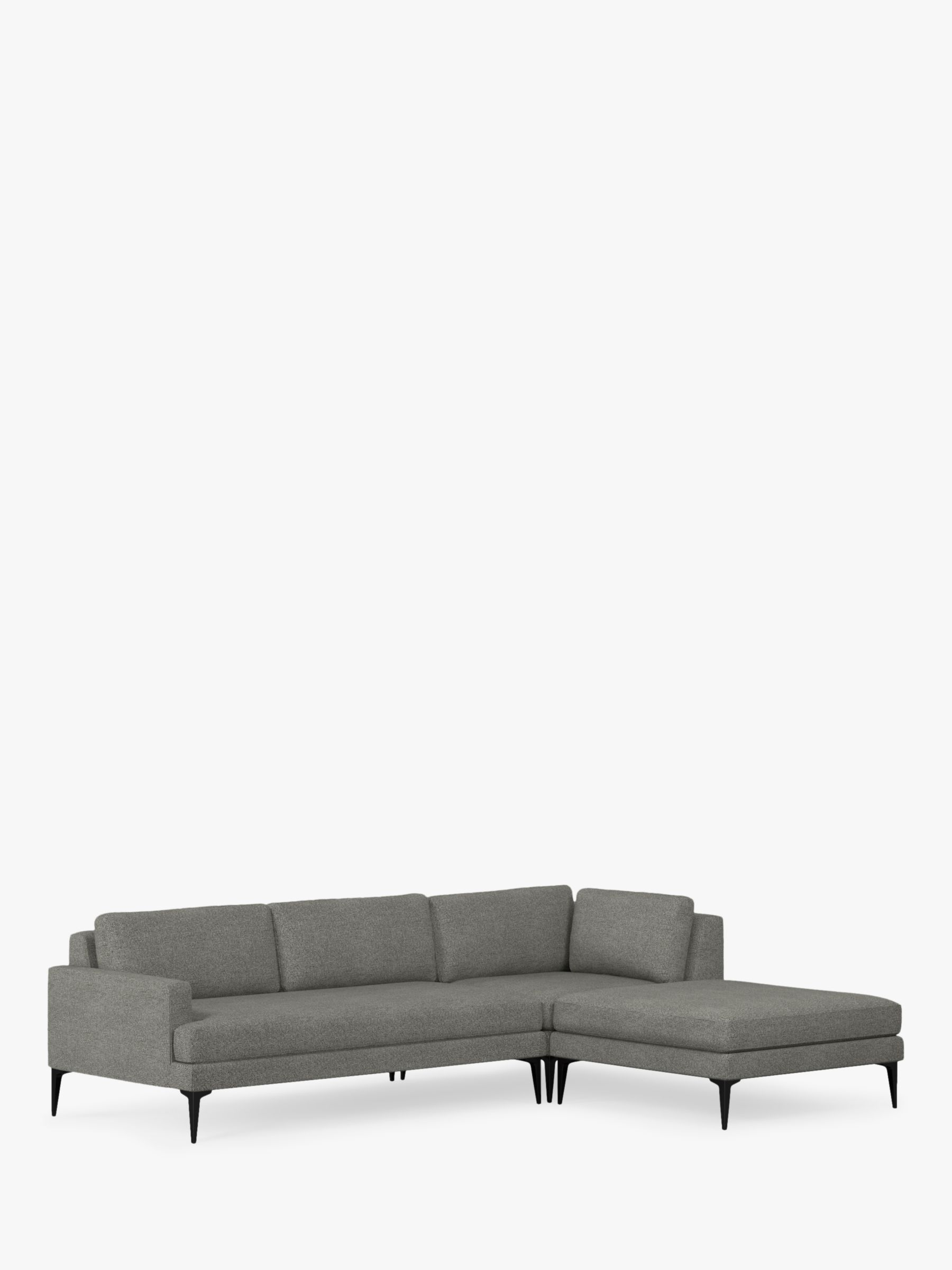 West Elm Andes Large 3 Seater Rhf