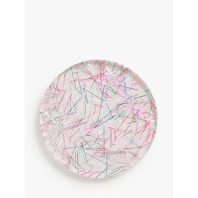 John Lewis & Partners Glitter Resin Coasters, Set of 4