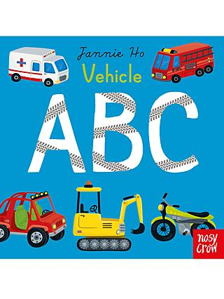 Vehicle ABC Children's Book