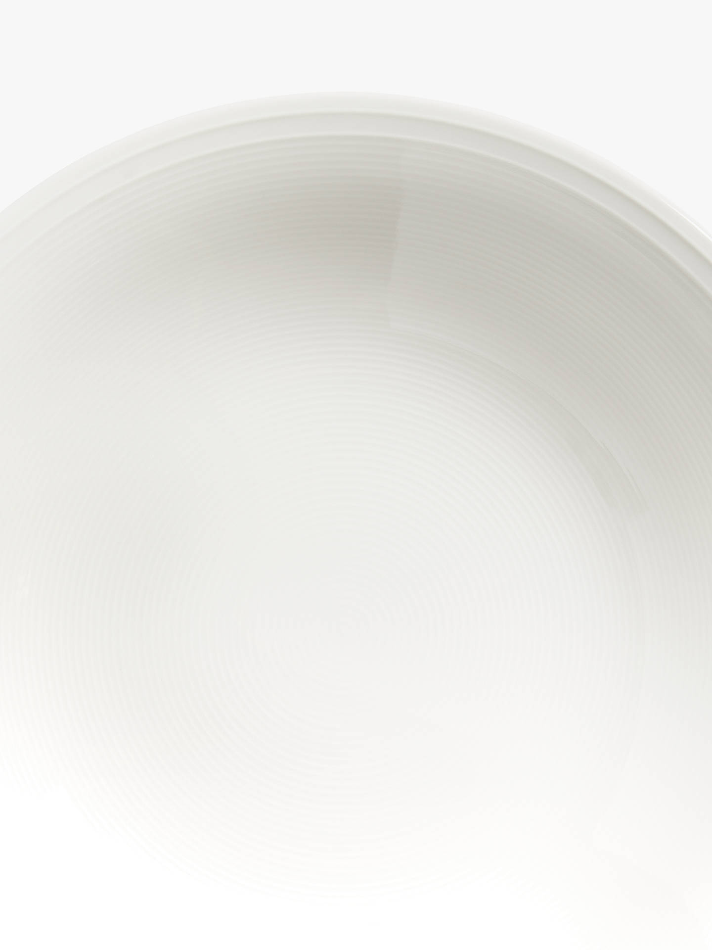 Buy John Lewis & Partners Rhythm Soup Plate, 23cm, White Online at johnlewis.com