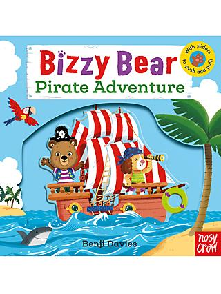 Bizzy Bear Pirate Adventure Children's Book