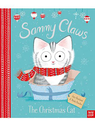 Sammy Claws The Christmas Cat Children's Book