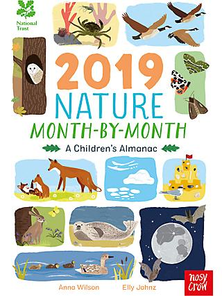 National Trust 2019 Nature Month-By-Month Children's Book