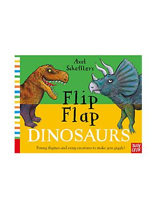 Flip Flap Dinosaurs Children's Book