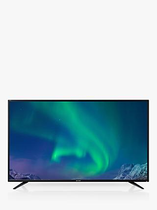 "Sharp LC-43UI7252K LED HDR 4K Ultra HD Smart TV, 43"" with Freeview HD, Miracast & Harman/Kardon Sound, Black"