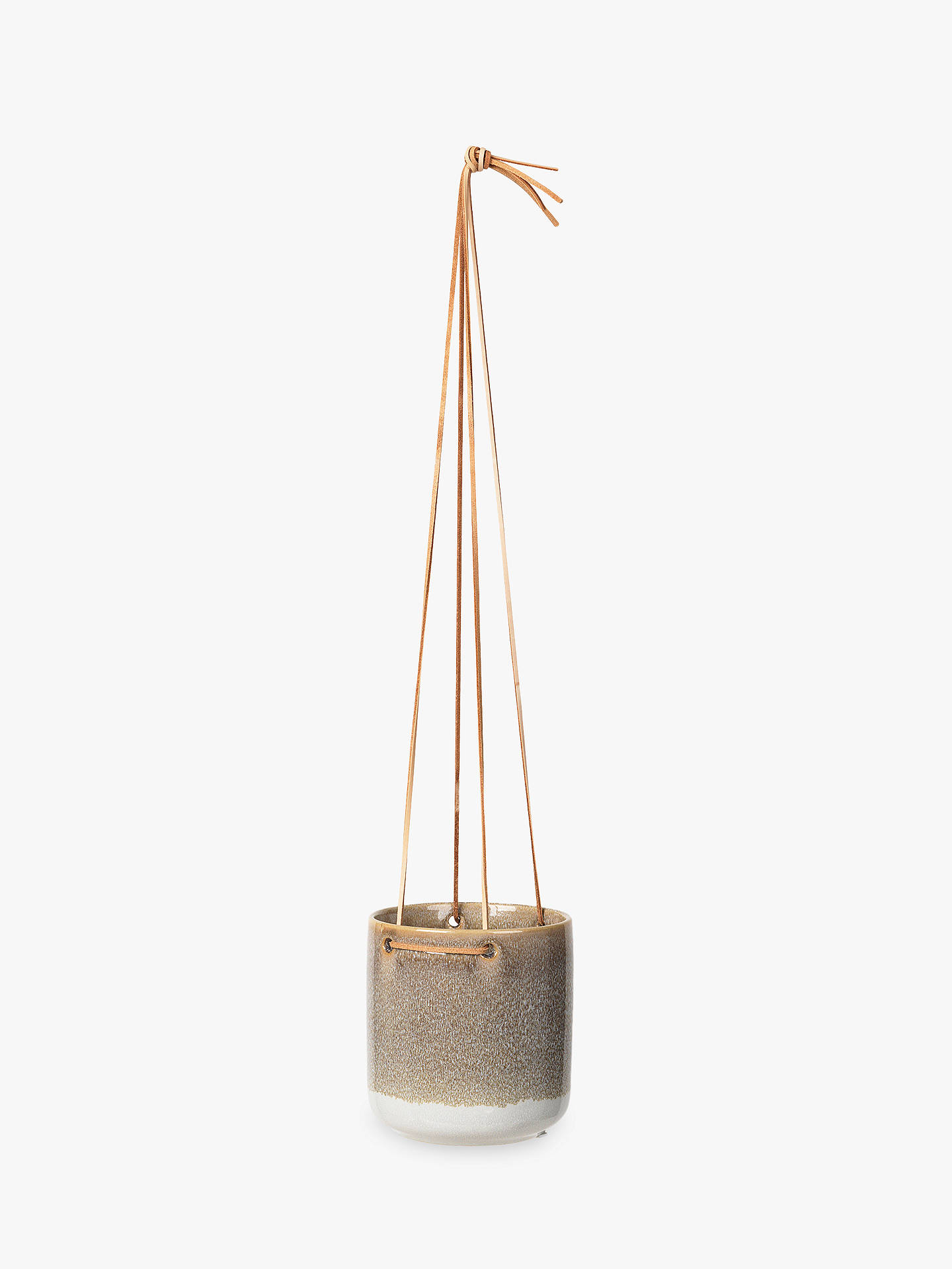 BuyBroste Copenhagen Almas Medium Hanging Pot, Taupe Online at johnlewis.com