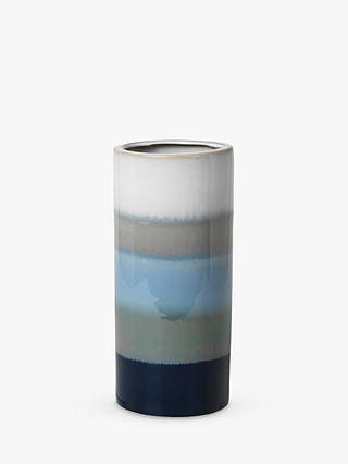 Buy Broste Copenhagen Ceramic Stripe Vase, Large Online at johnlewis.com