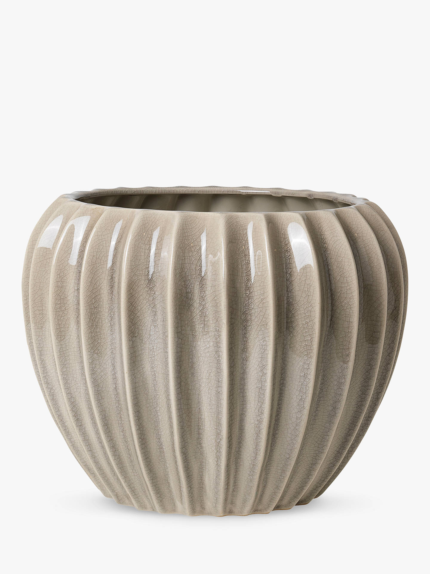 BuyBroste Copenhagen Wide Flower Pot, Medium Online at johnlewis.com