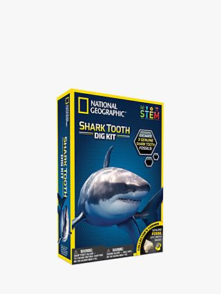 National Geographic Shark Tooth Dig Kit