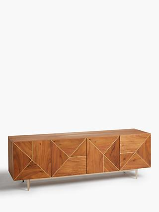 John Lewis & Partners + Swoon Mendel TV Stand Sideboard for TVs up to 65""