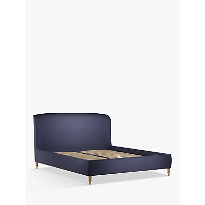 Croft Collection Skye Upholstered Bed Frame, Super King SizeCroft Collection Skye Upholstered Bed Frame, Super King Size, Mole Navy