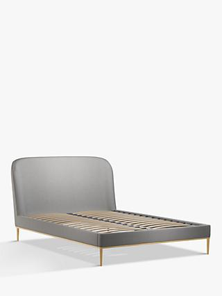 John Lewis & Partners Show-Wood Upholstered Bed Frame, Double