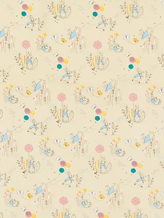 Create and Make Peter Rabbit Print Fabric, Neutral