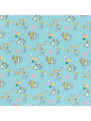 Create and Make Peter Rabbit Print Fabric, Blue