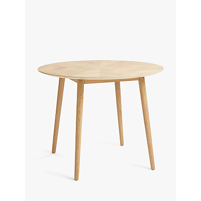 Croft Collection Iona 4 Seater Round Dining Table