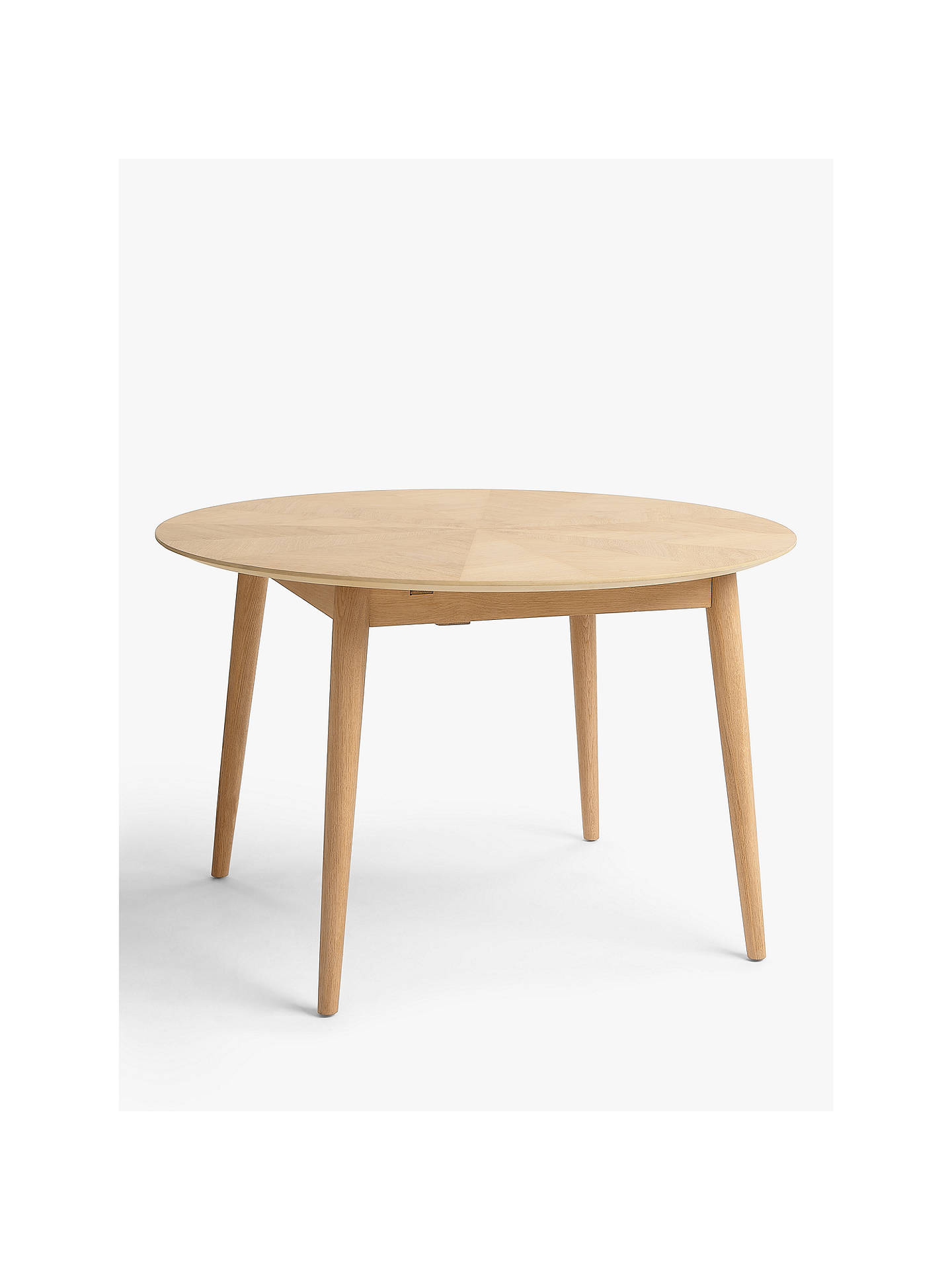 Croft Collection Iona 4 6 Seater Extending Round Dining Table At John Lewis Partners