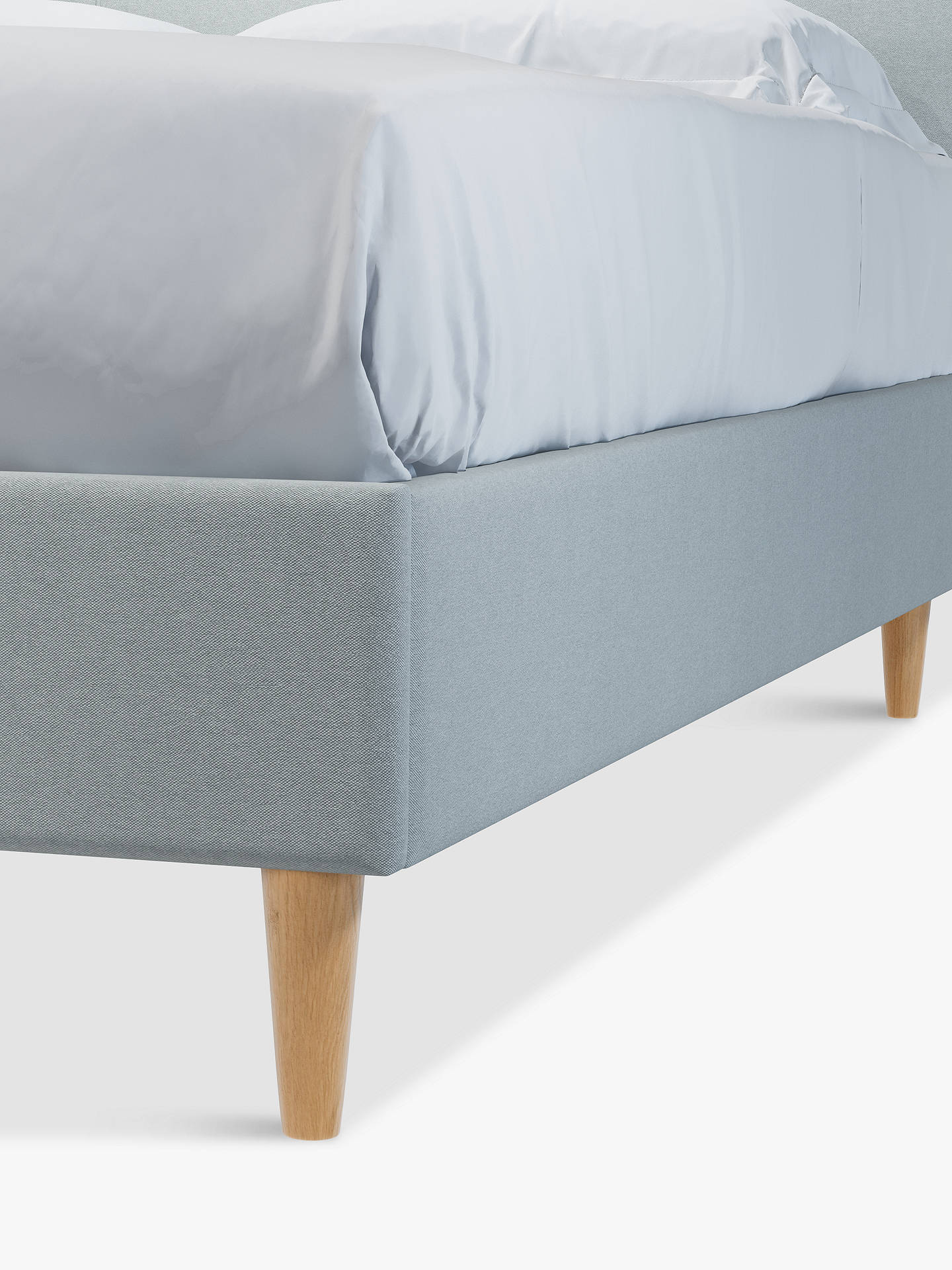Buy John Lewis & Partners Twiggy Upholstered Bed Frame, King Size, Marylamb Slate Online at johnlewis.com