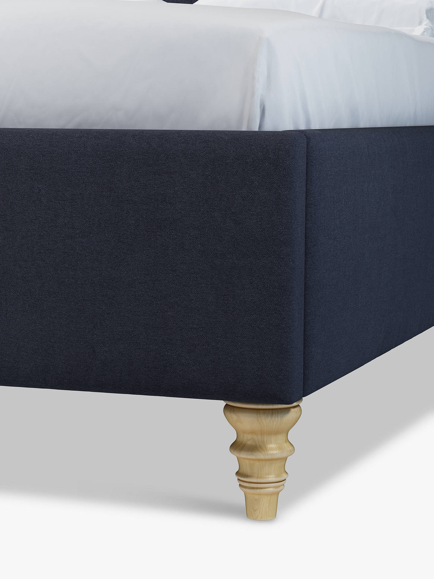 Buy John Lewis & Partners Rouen Upholstered Bed Frame, Double, Marylamb Night Sky Online at johnlewis.com
