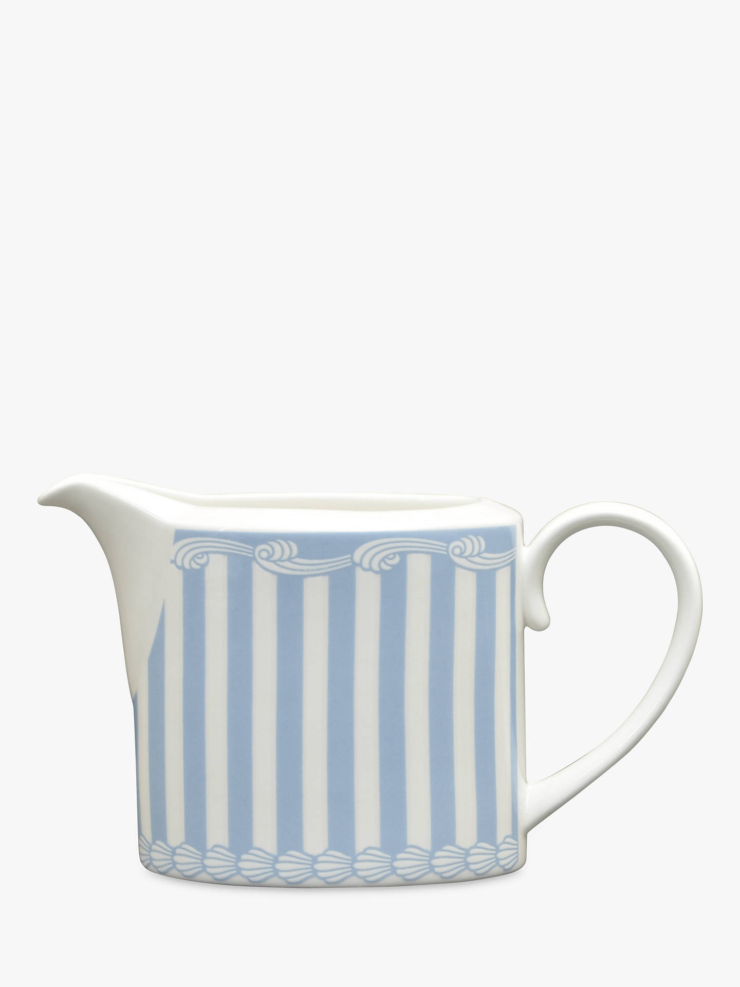 Buy Little Venice Cake Company Milk Jug, Blue/White, 220ml Online at johnlewis.com