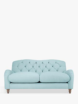 Crumble Medium 2 Seater Sofa by Loaf at John Lewis, Clever Softie Powder Blue