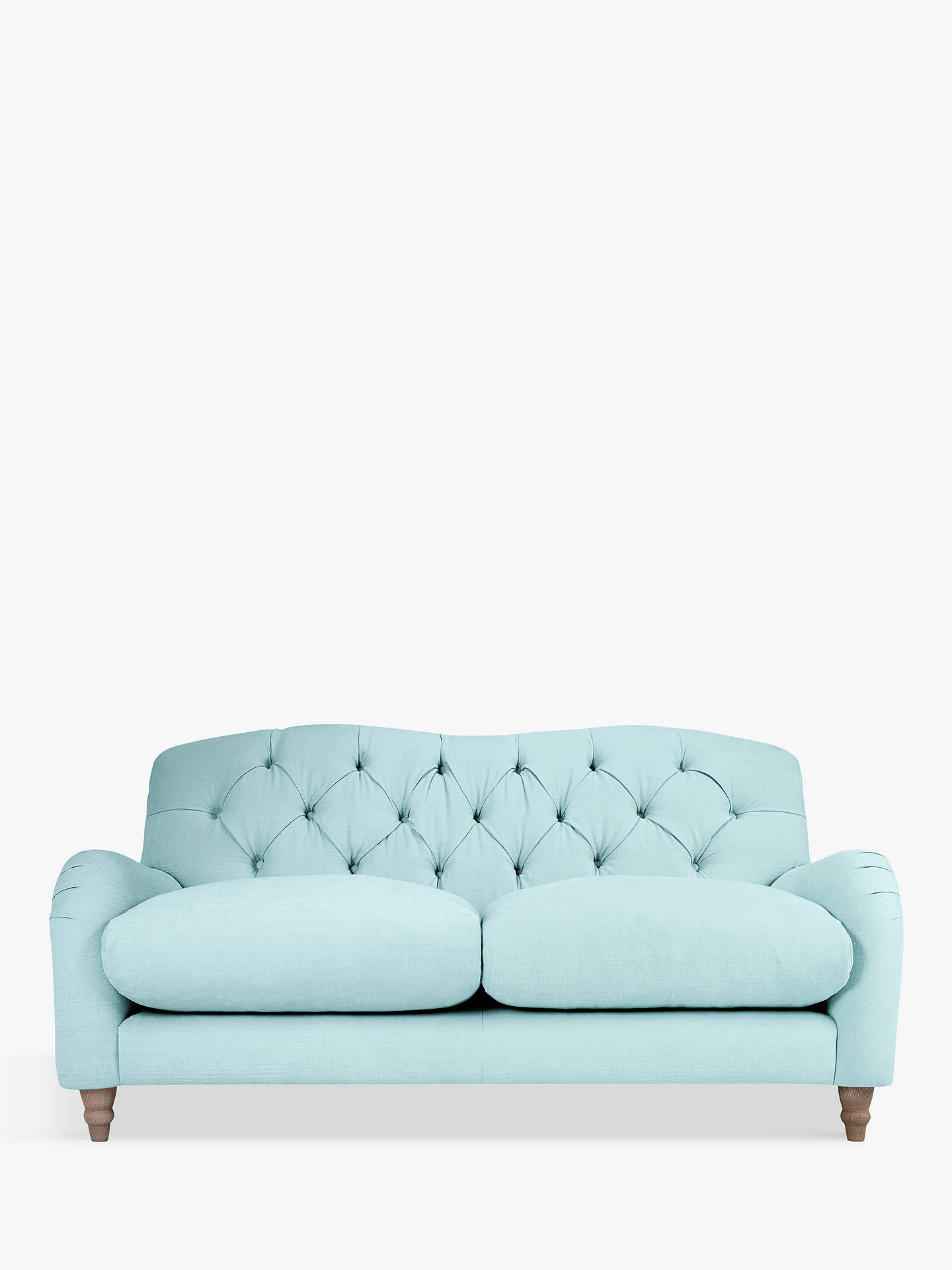 Buy Crumble Medium 2 Seater Sofa by Loaf at John Lewis, Clever Softie Powder Blue Online at johnlewis.com