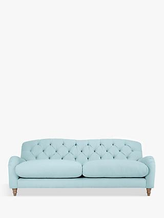 Crumble Large 3 Seater Sofa by Loaf at John Lewis, Clever Softie Powder Blue