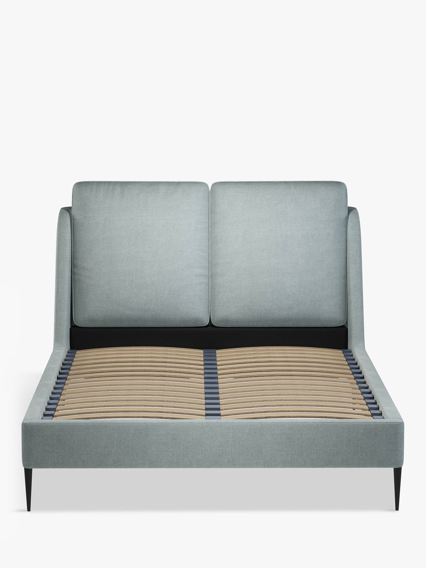 Buy John Lewis & Partners Giorgio Upholstered Bed Frame, Double, Erin Duck Egg Online at johnlewis.com