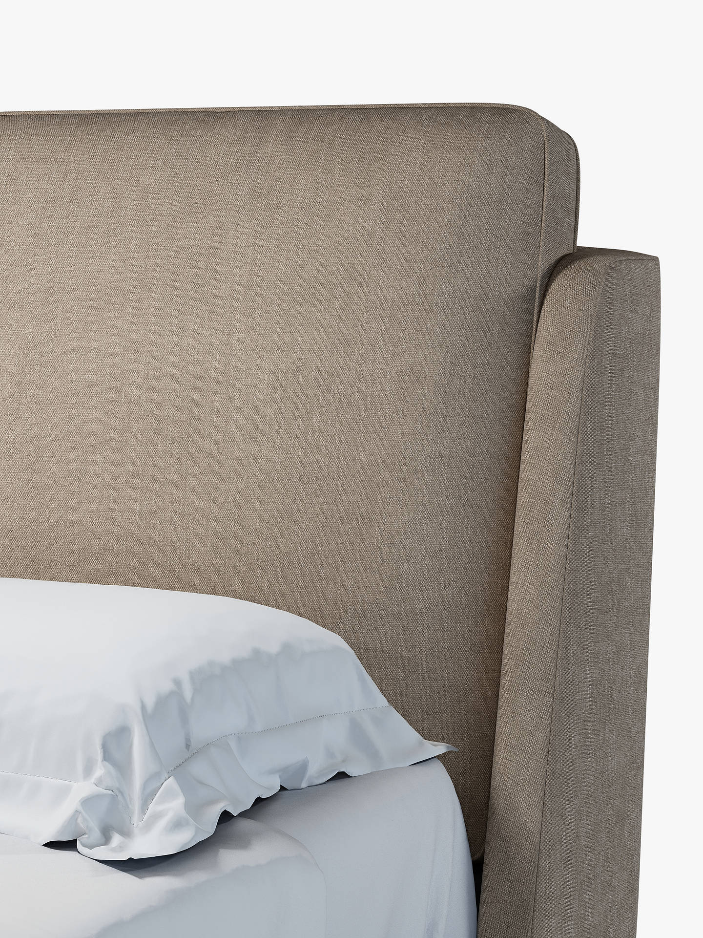 Buy John Lewis & Partners Giorgio Upholstered Bed Frame, King Size, Erin Mole Online at johnlewis.com