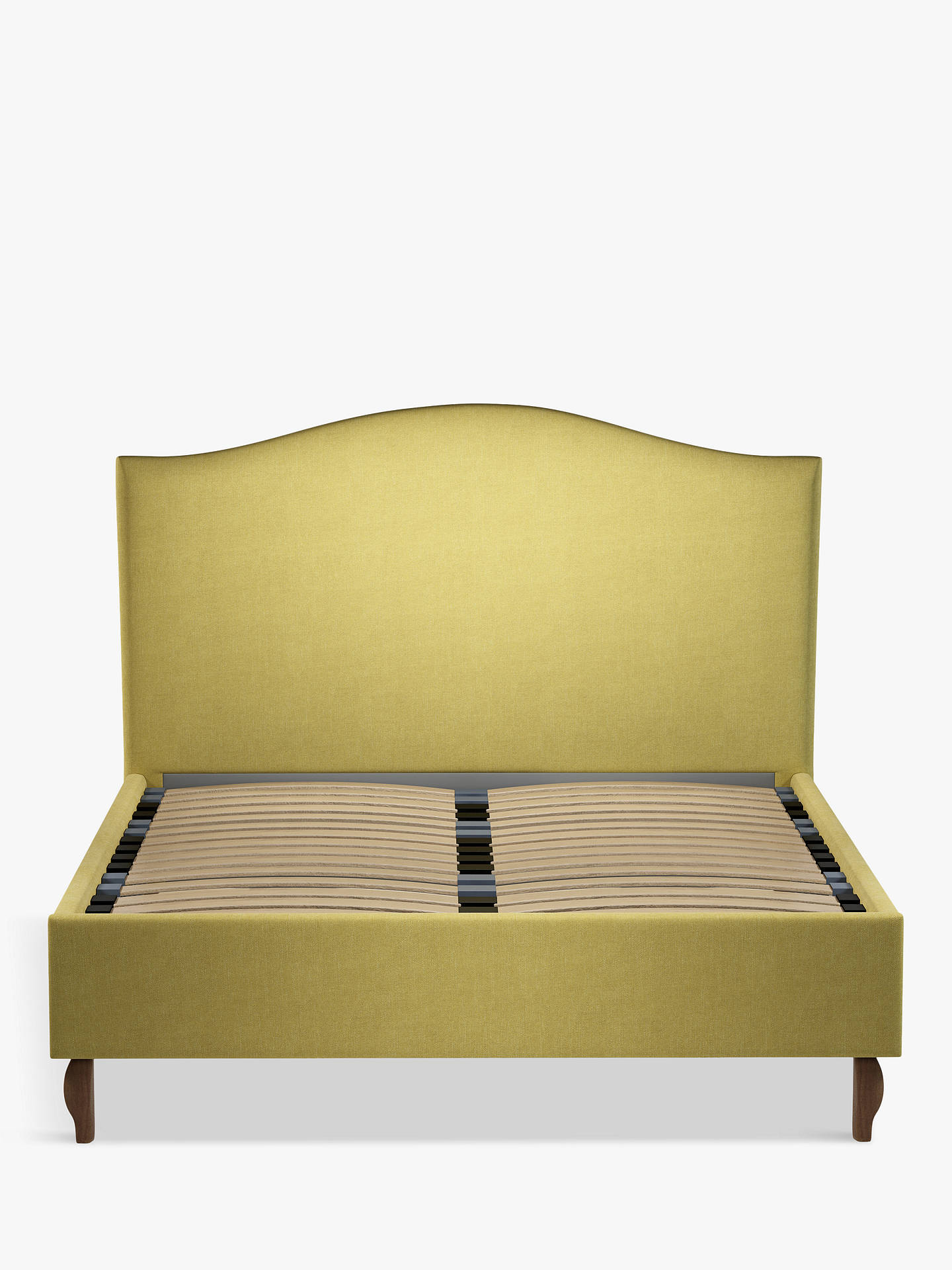 Buy John Lewis & Partners Charlotte Upholstered Bed Frame, King Size, Erin Citrine Online at johnlewis.com