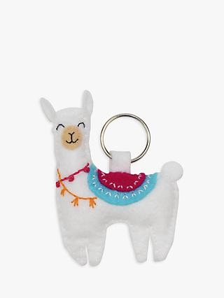 My Life Handmade Felt Llama Keyring Craft Kit