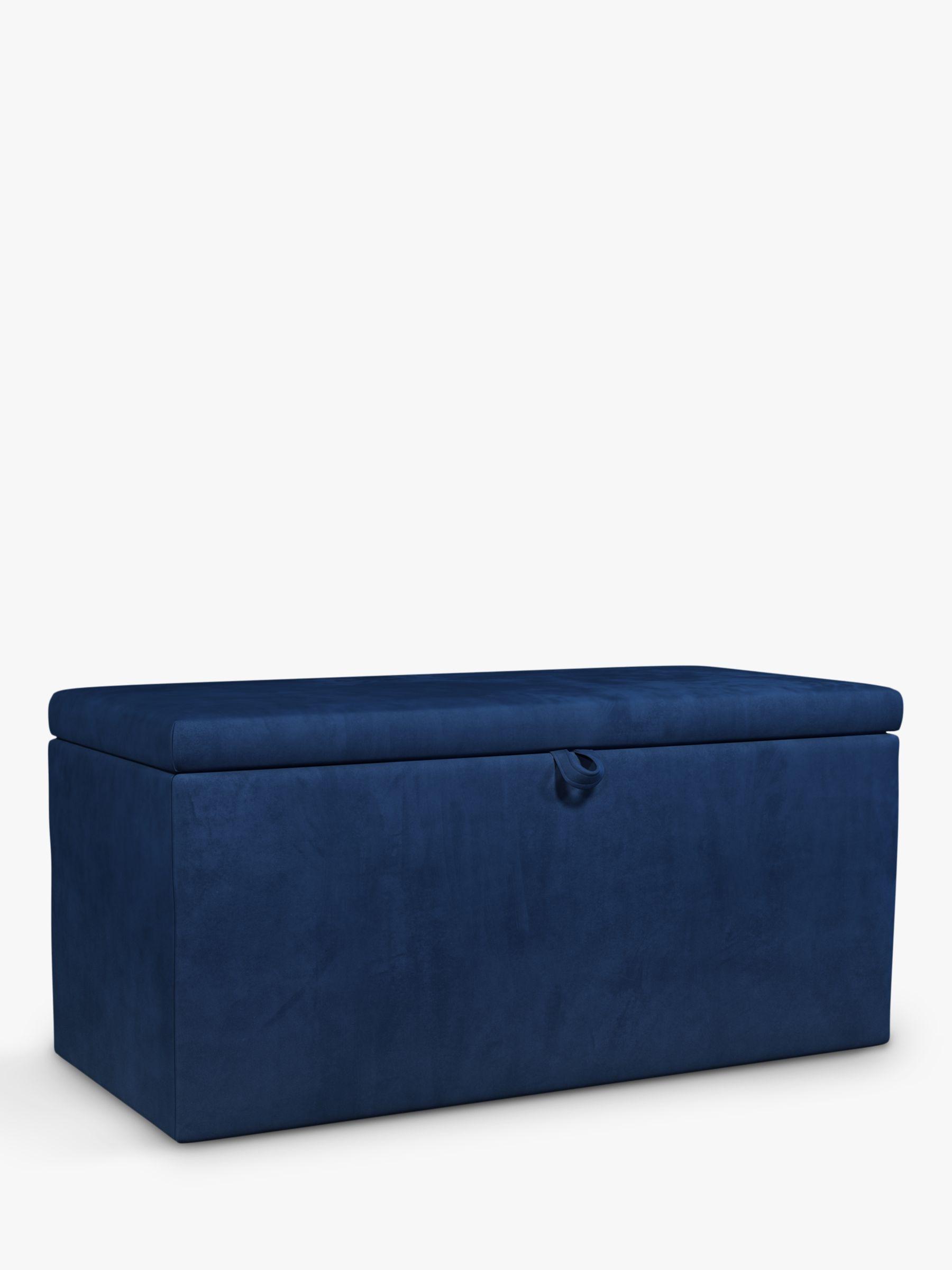 John Lewis & Partners Emily Upholstered Ottoman Storage Box