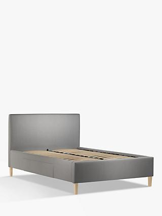 John Lewis & Partners Emily 2 Drawer Storage Upholstered Bed Frame, Double