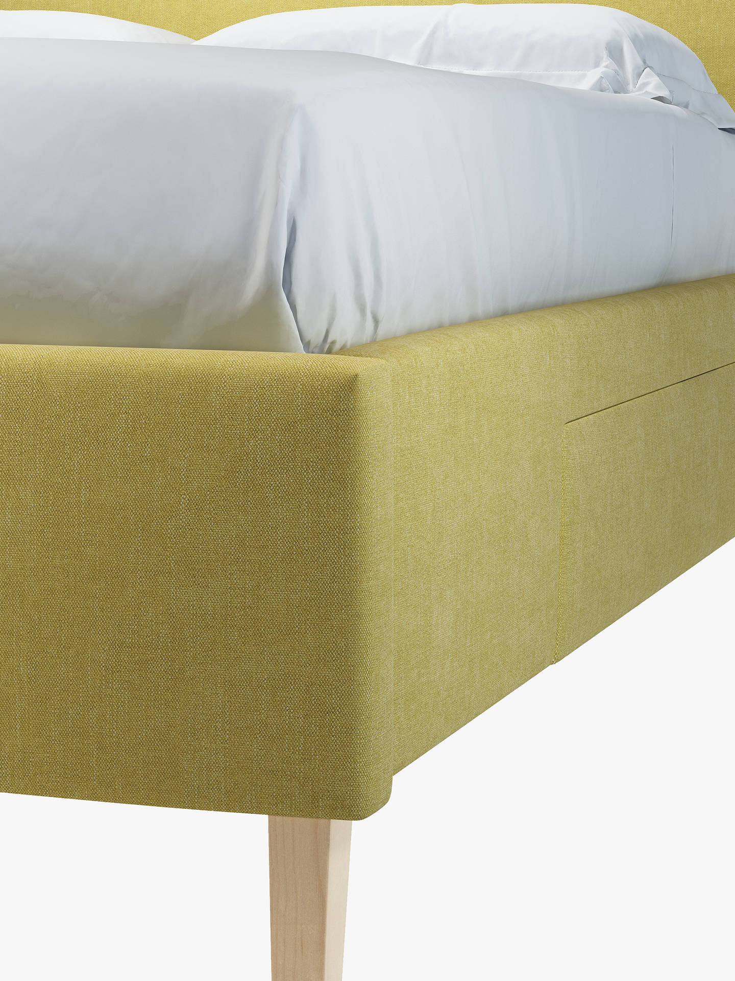 dd5269d42aac ... Buy John Lewis & Partners Emily 2 Drawer Storage Upholstered Bed Frame,  Double, Erin ...