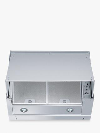 Miele DA 1867 60cm Slot-in Cooker Hood, Stainless Steel