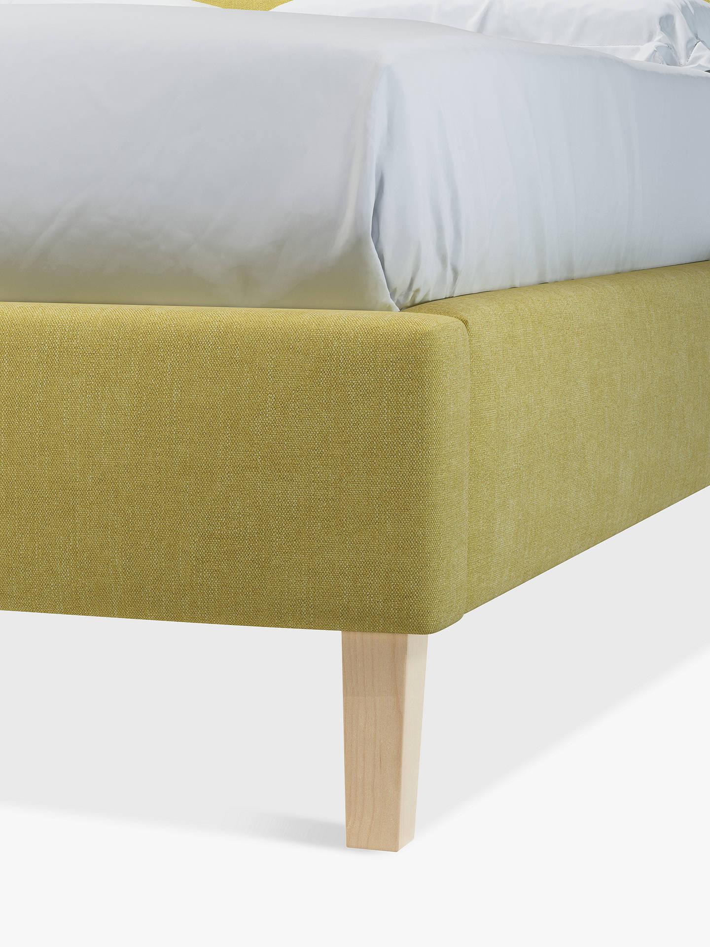 Buy John Lewis & Partners Emily Upholstered Bed Frame, Small Double, Erin Citrine Online at johnlewis.com