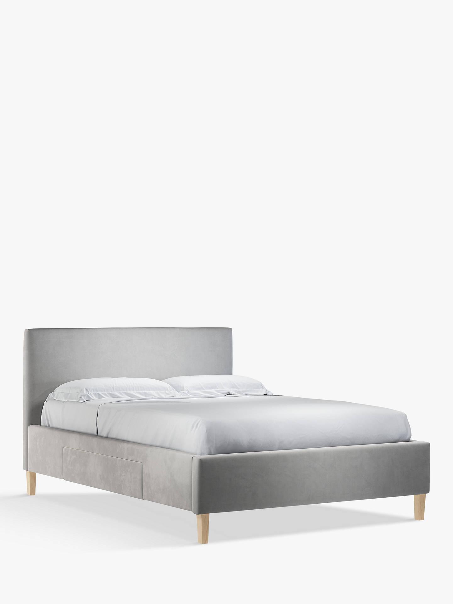 f4b98c23a725 ... Buy John Lewis & Partners Emily 2 Drawer Storage Upholstered Bed Frame,  King Size, ...