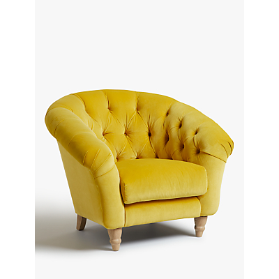 Cupcake Armchair by Loaf at John Lewis, Clever Velvet Bumblebee