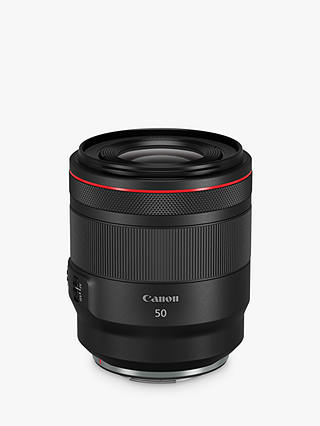 Buy Canon RF 50mm f/1.2L USM Lens Online at johnlewis.com