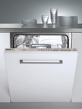 Hoover HDI1LO38BS-80 Integrated Dishwasher, A+ Energy Rating, White