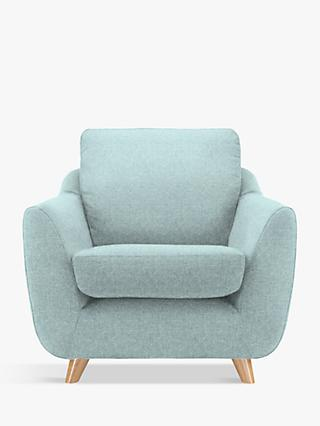 G Plan Vintage The Sixty Seven Armchair, Krackle Sky