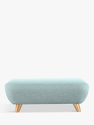 G Plan Vintage The Sixty Seven Footstool, Krackle Sky