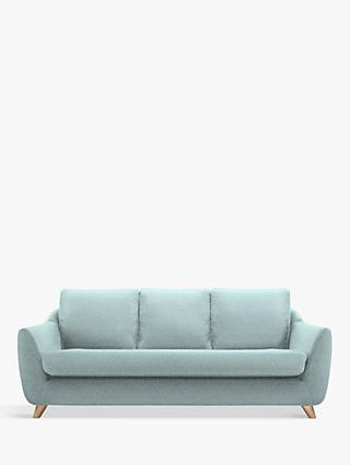 G Plan Vintage The Sixty Seven Large 3 Seater Sofa, Krackle Sky