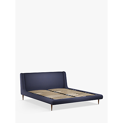 John Lewis & Partners Mid-Century Sweep Upholstered Bed Frame, Super King Size