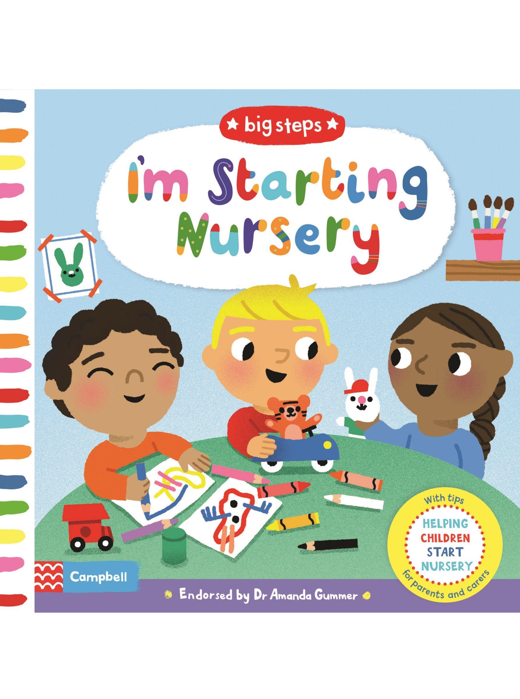 Macmillan I'm Starting Nursery Big Steps Children's Book