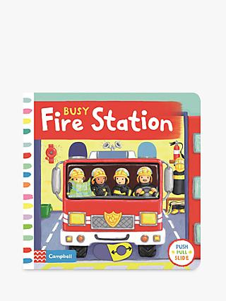 Busy Fire Station Children's Book