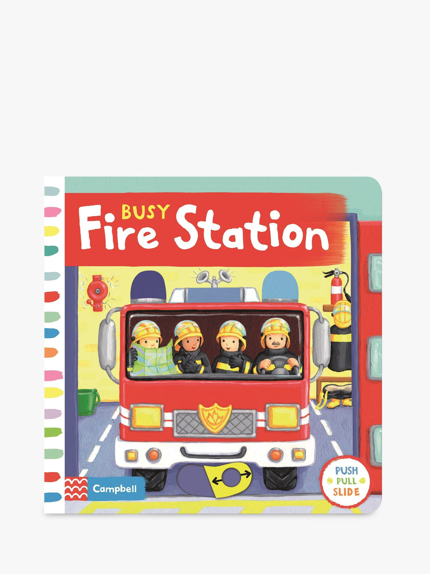 Macmillan Busy Fire Station Children's Book
